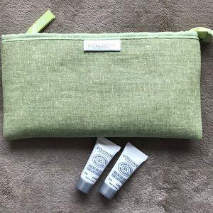 L'OCCITANE cosmetic pouch 💚